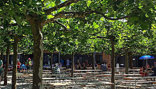 Japanese Park Bier Garden