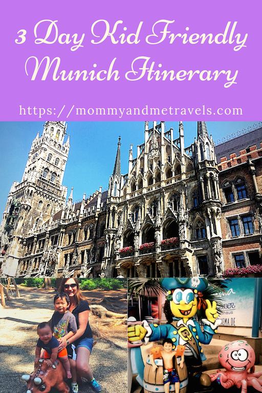 3 Day Kid Friendly Munich Itinerary