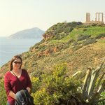 Temple of Poseidon with Mommy And Me Travels