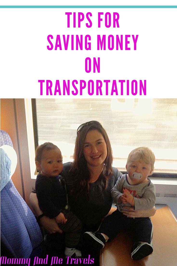 Tips For Saving Money On Transportation For Pinterest