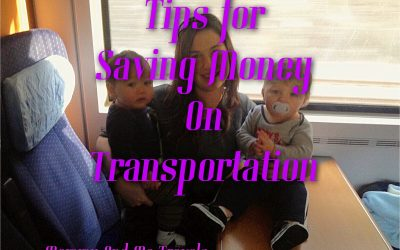 TIPS FOR SAVING MONEY ON TRANSPORTATION