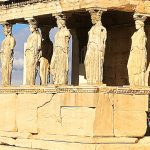 Caryatids on Erechtheion