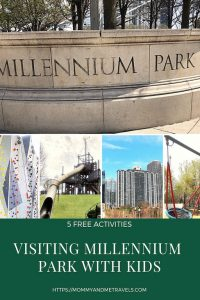 Chicago Millennium Park With Kids