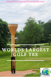 Worlds Largest Golf Tee