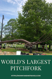 World's Largest Pitchfork