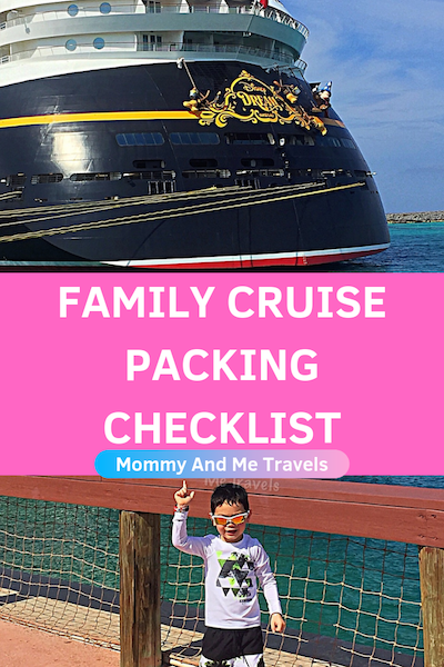 Family Cruise Packing List
