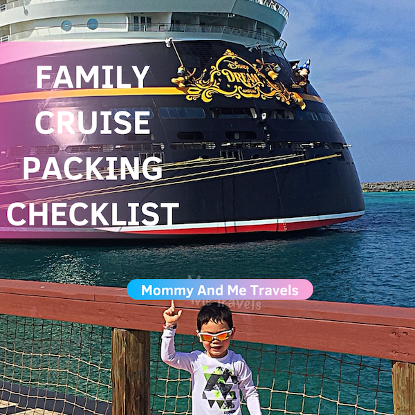 Family Cruise Packing Checklist