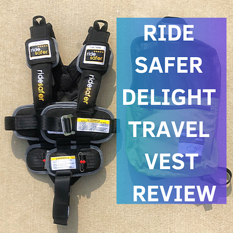 Ride Safer Delight Travel Vest Review: It will change the way your kids travel