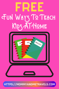 Free Fun Ways To Teach Kids At Home - E-Learning Websites