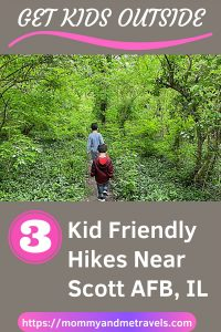 3 Kid Friendly Hikes Scott Air Force Base that you don't want to miss #ScottAFB #MWTravels #FamilyHiking