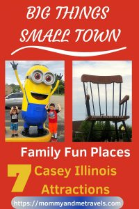 Casey Illinois Attractions – Family Fun Places To Visit In The Midwest #FamilyTravel #MWTravel #Midwest #CaseyIL