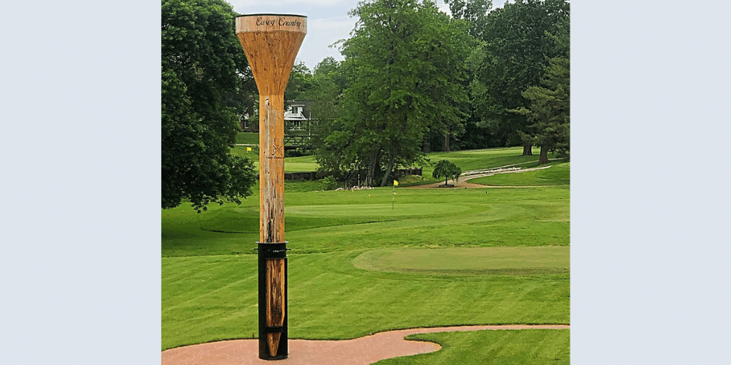 World's Largest Golf Tee