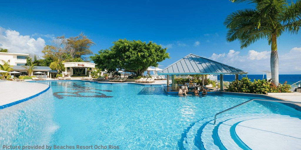 DAY PASS OCHO RIOS BEACHES RESORT REVIEW – POOL AREA