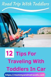 Road Trip With Toddler - 12 Tips For Traveling With Toddlers In Car #FamilyTravel
