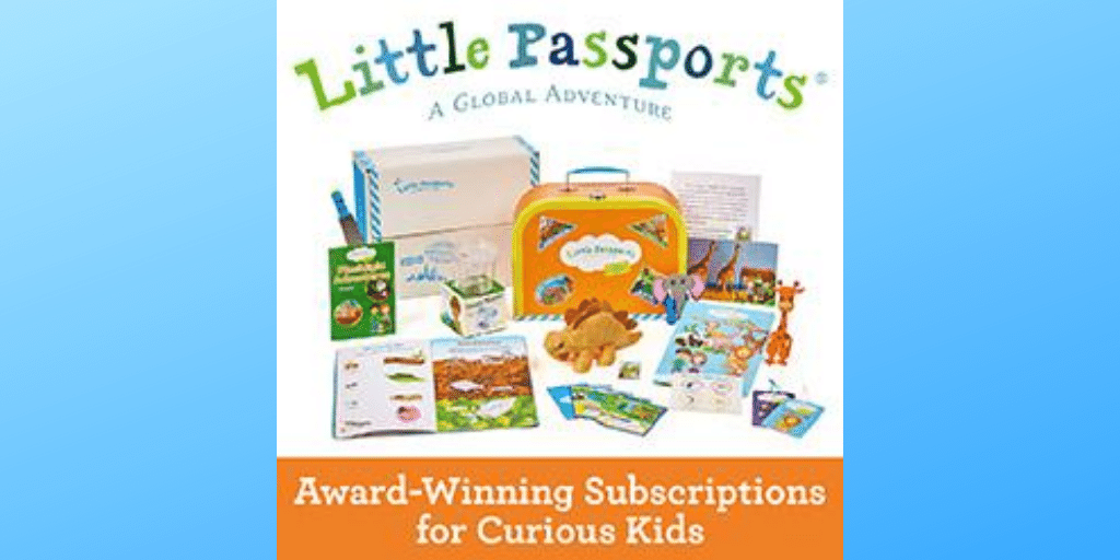 Early Explorer Travel Box Subscription