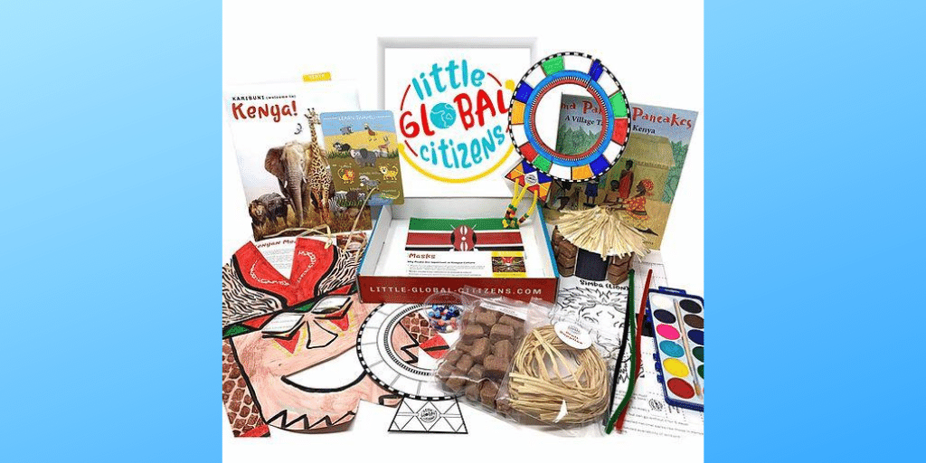 Little Global Citizens Travel Box Subscription Plus Bonus Sibling Box
