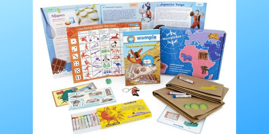WompleBox Travel Kids Monthly Box