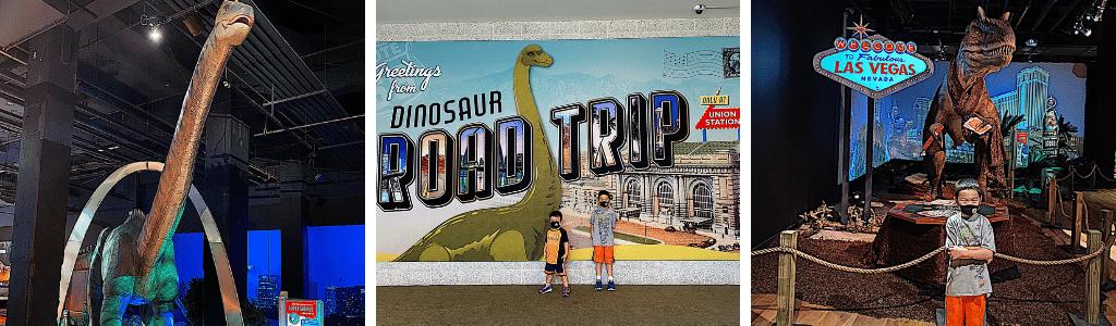 Dinosaur Road Trip - Union Station Exhibit Dinosaurs Kansas City