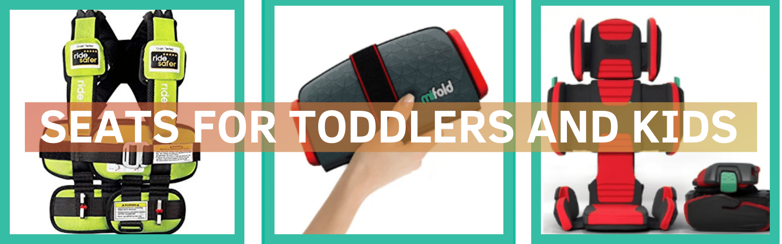 Travel Car Seat - Toddler Travel Must Haves