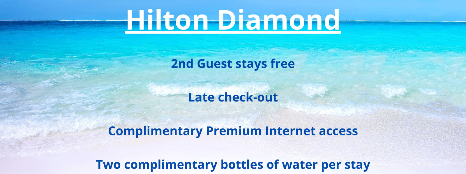 Hilton Honors Diamond Status