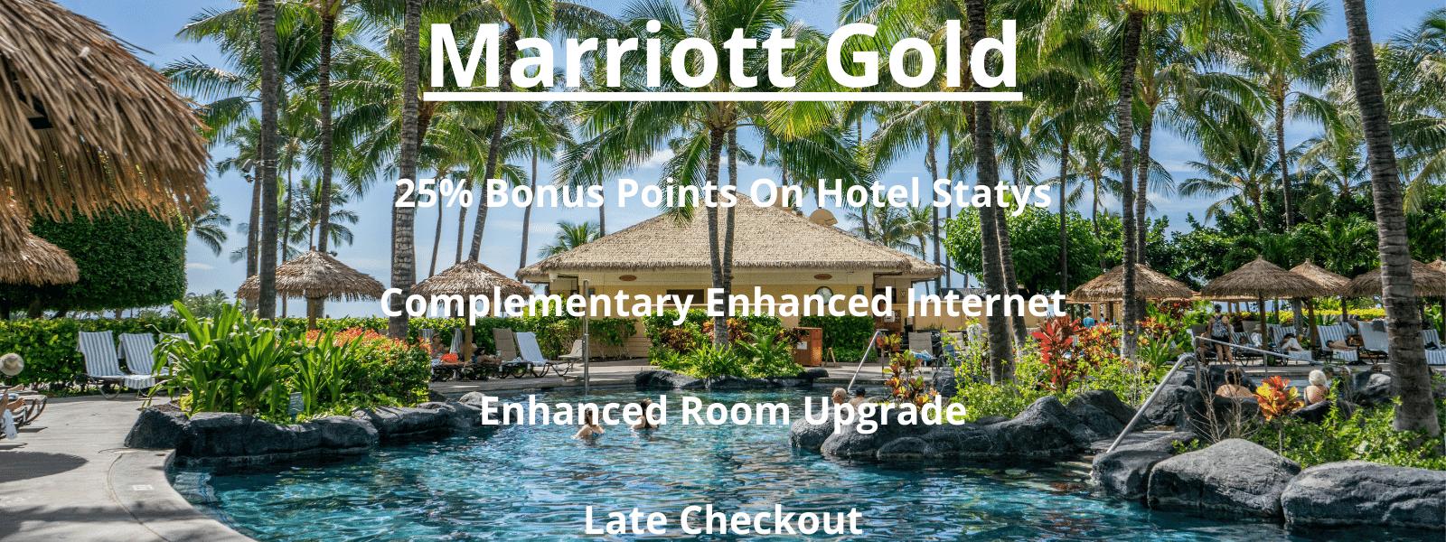 Marriott Hotel Status - Marriott Gold