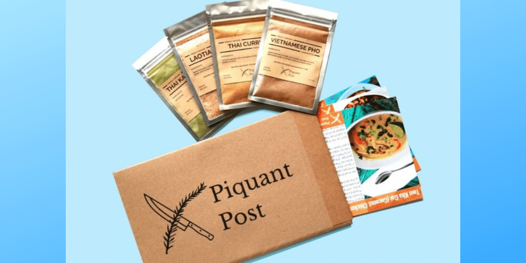 Piquant Post Flavor Kits Around The World Spice Subscription Box