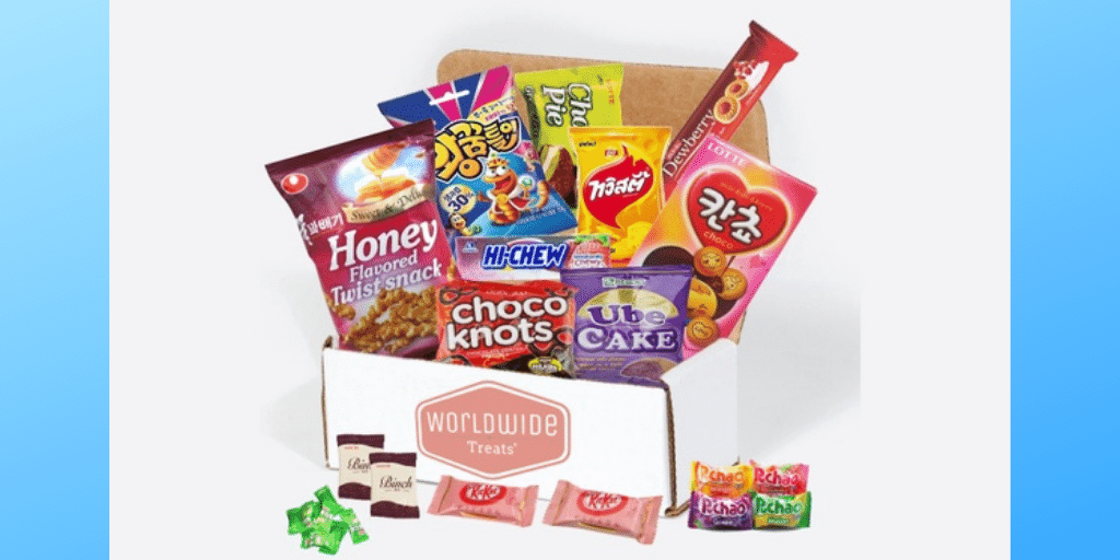 Worldwide Snack Mix International Snack Subscription Box