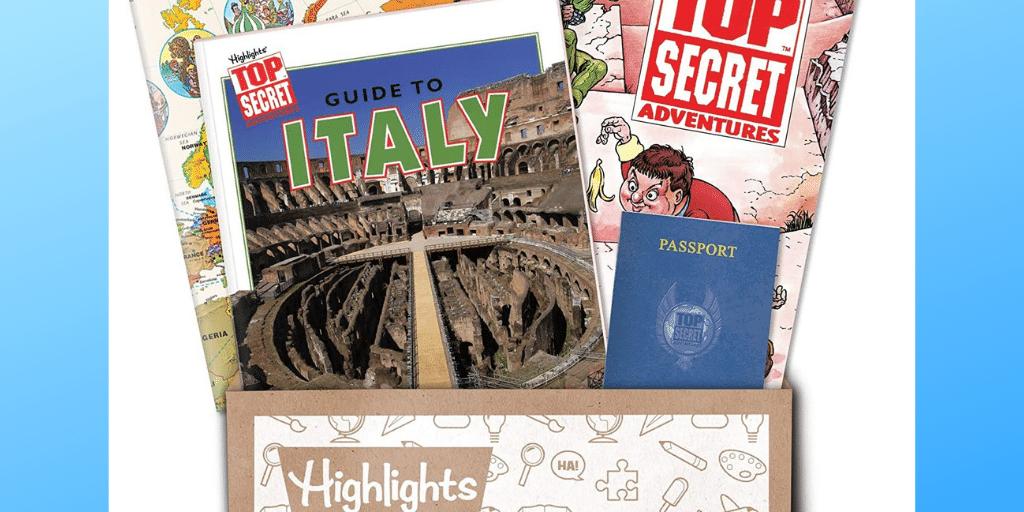 Top Secret Adventures Club - Detective Game Worldwide Box
