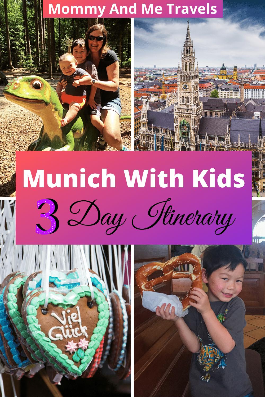 Munich With Kids - 3 Day Munich Itinerary