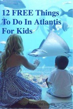 12 Free Things To Do In Atlantis For Kids Pin
